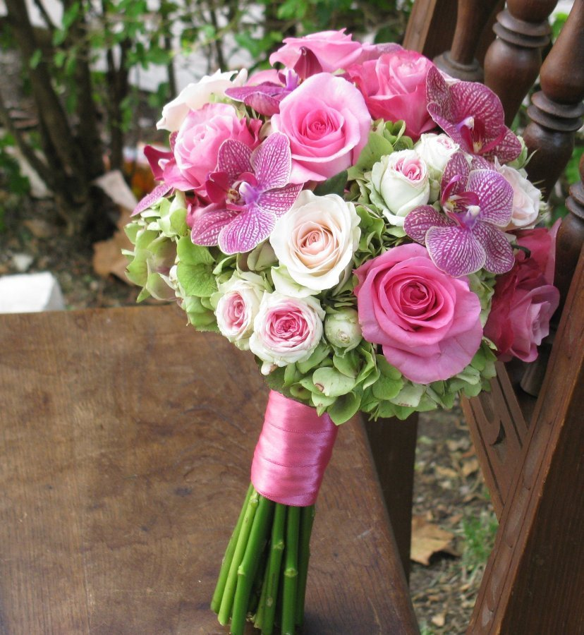 Pin bouquet de rosas rosa on pinterest - Ramos de rosas rosas ...
