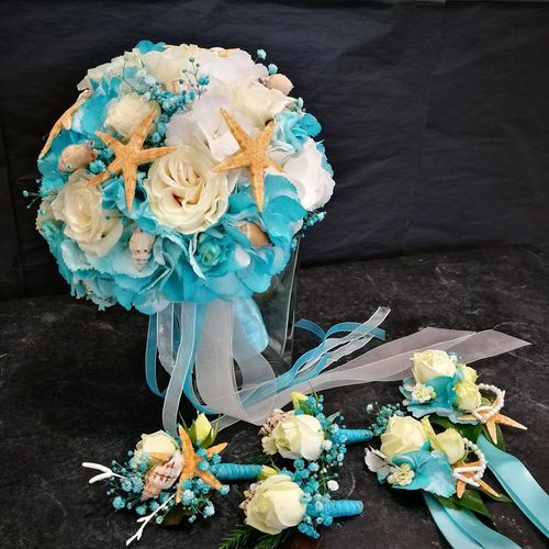 Bouquet de Noiva Tema Mar